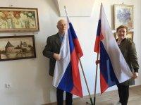 Выставка российских художников «Весенняя мелодия цветов» в городе Прешов