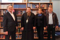 Встреча с представителем Православной Церкви Чешских земель и Словакии архимандритом Серафимом