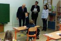 Посещение Словацко-русской школы в Братиславе