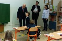 Visit to the Slovak-Russian school in Bratislava