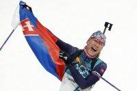 Словацкая биатлонистка Анастасия Кузьмина выиграла золото Олимпиады