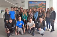 Open lesson in the Russian Center for students from the city of Levice