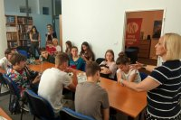 Otvorená hodina v Ruskom centre pre žiakov Gymnázia Ivana Horvátha