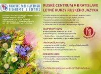 Letné kurzy ruského jazyka v Bratislave