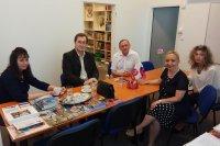 В Русском центре состоялась дискуссия на тему «Роль русского языка в славянском мире»