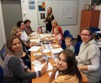 Открытый урок живописи в Русском центре