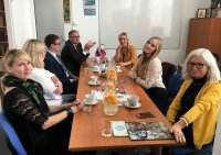 A creative meeting with the editors of the journal of Russian compatriots