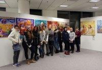 Открытый урок в Русском центре для студентов из интерната