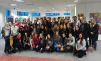 Открытый урок по русскому языку для гимназистов из Кошице