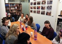 Open lesson at the Russian Center for students from boarding school