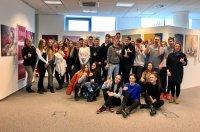 Открытый урок в Русском центре для учащихся гимназии имени Ивана Хорвата