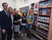 Открылась выставка книг «Раскрытые в детстве страницы»