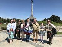 Праздничные мероприятия в честь Дня Победы прошли в Братиславе