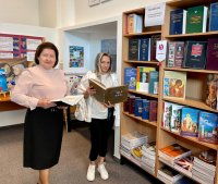 Выставка книг: «Словари и энциклопедии-путеводители знаний»