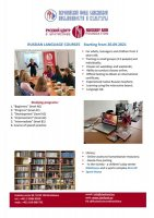 RUSSIAN LANGUAGE COURSES Starting from 20.09.2021