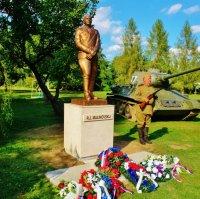 В Словакии открыли памятник маршалу Р.Я. Малиновскому
